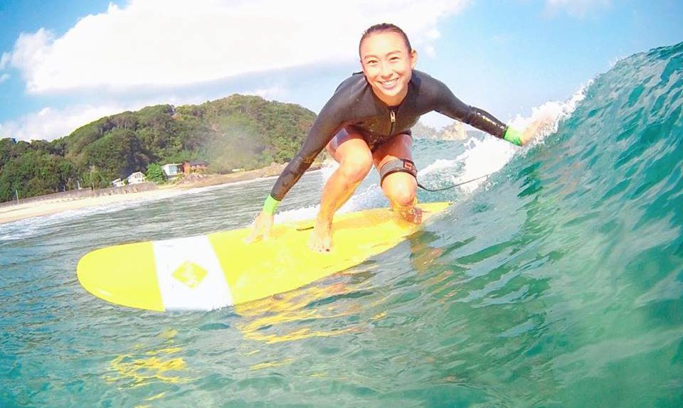 10月の大浜サーフ