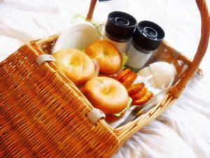 朝食 朝ごはん 朝ごパン ベーグルサンド