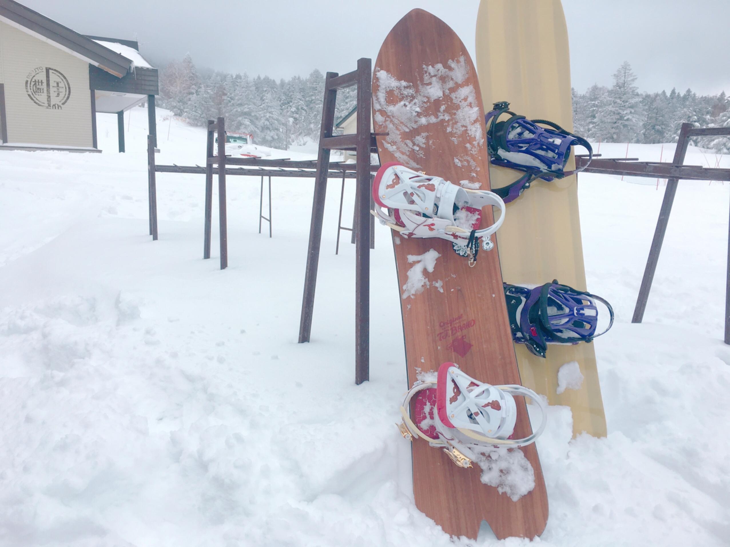 志賀高原 スノーボード スノーサーフ スノーサーフィン 冬