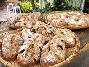 伊豆下田 吉佐美大浜 ココデメールの自家製石窯パン