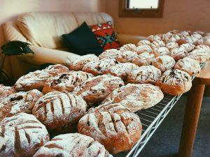 石窯巻き焼き パン 朝食 朝ごはん 朝ごぱん おいしい