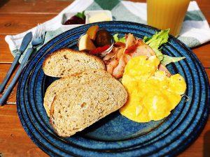 石窯パン 朝食